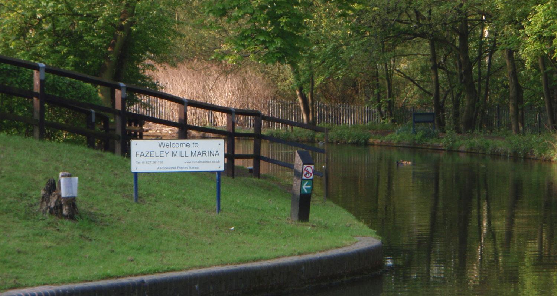 Fazeley Mill Canal Marina