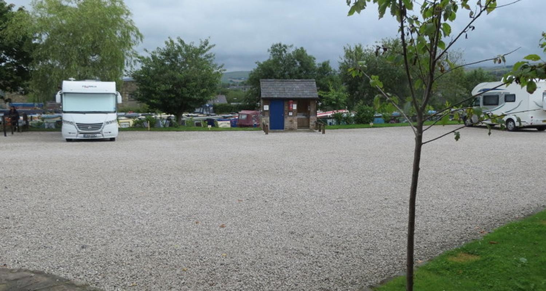 New Mills Marina Caravan Pitches